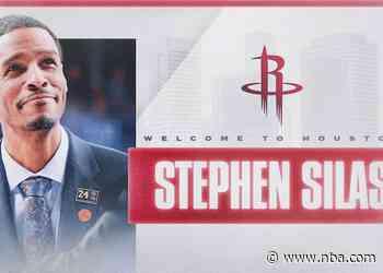 Rockets Name Stephen Silas Head Coach