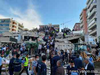 A 6.6-magnitude earthquake hit Turkey, leaving 12 dead, over 600 injured, and toppling at least 20 buildings
