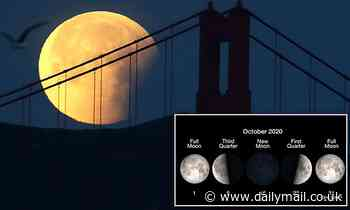 Halloween treat for the whole world as rare Blue Moon TOMORROW will be across all time zoness