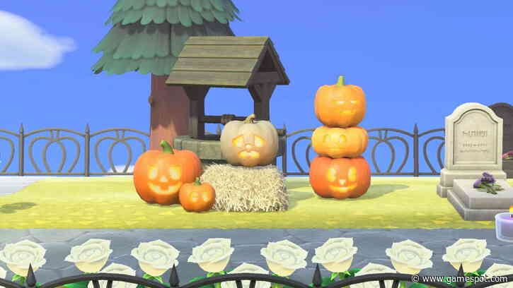 Animal Crossing Players Are Trick-Or-Treating At Home For Halloween