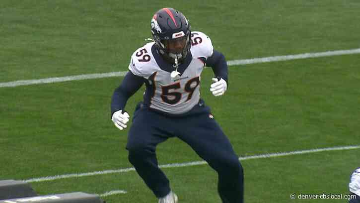 Broncos Outside Linebacker Malik Reed Steps In Again, Makes Most Of Shot
