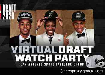 SPURS TO HOST FREE VIRTUAL DRAFT WATCH PARTY ON WEDNESDAY, NOVEMBER 18