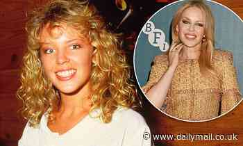 Kylie Minogue unearths her first EVER recordings at age 17