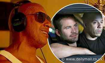 Vin Diesel thanks late Fast And Furious costar Paul Walker as part of his inspiration to make music