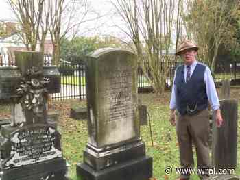 Cemetery headstones bring history to life in Fayetteville