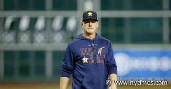 A.J. Hinch Hired by Tigers After Suspension for Astros Cheating