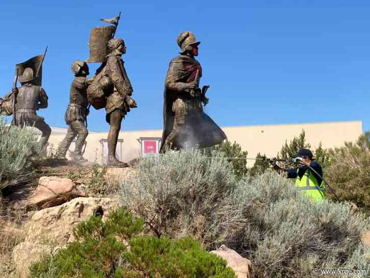 Panel suggests not bringing Onate statue back to Old Town