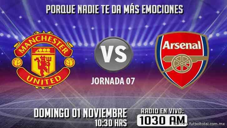 Escucha EN VIVO aquí el duelo entre Manchester United vs Arsenal