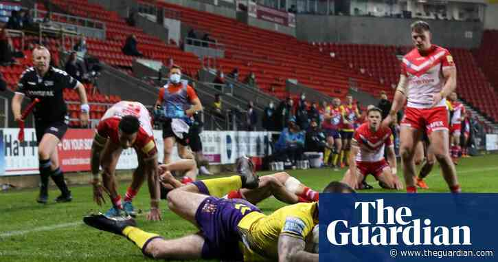 Wigan give St Helens a French lesson to leapfrog rivals at top of Super League