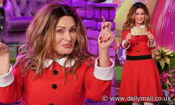Sharon Osbourne, 68, dresses up as Veruca Salt as The Talk hosts do Willy Wonka-themed costumes