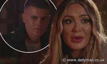 Frankie Sims reassures boyfriend Harry Lee after he admits his 'trust issues'