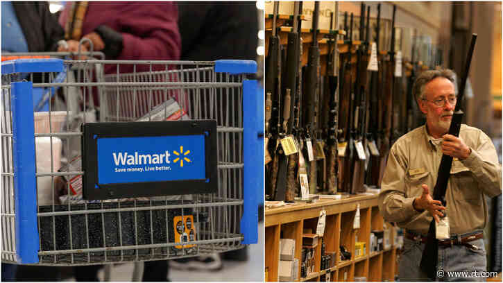 Walmart RETURNS guns & ammo to displays one day after pulling them, saying US civil unrest 'remained geographically isolated'