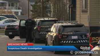 Calgary police investgate suspicious death in city's southeast