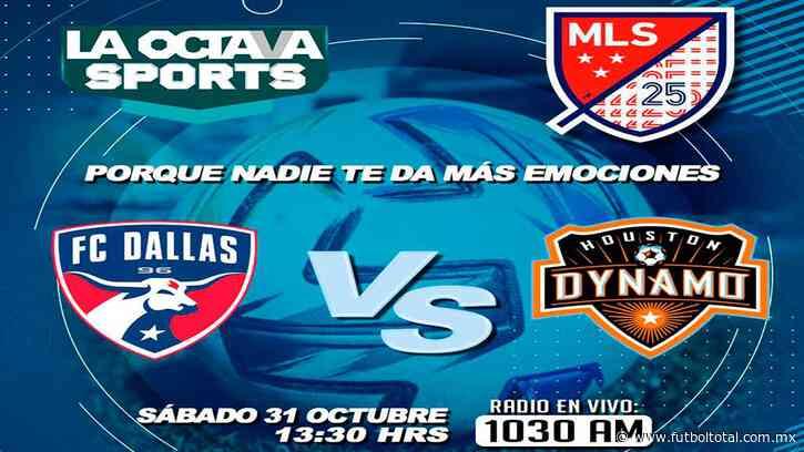 Escucha EN VIVO aquí el duelo entre FC Dallas y Houston Dynamo