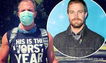 Stephen Amell has back injury on Heels set after COVID-19 diagnosis