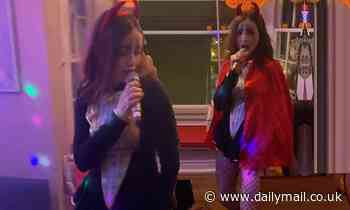 Sophie Ellis-Bextor wows in a black bodysuit for aHalloween special of her Kitchen Disco