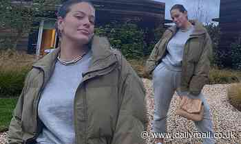 Ashley Graham says she is feeling nothing but 'bliss and gratitude' on her 33rd birthday
