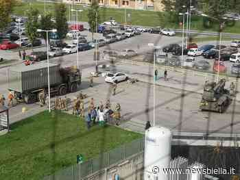 Piemonte, a Rivoli l'esercito monta due tendoni davanti all'ospedale. Biella non è nella lista - newsbiella.it