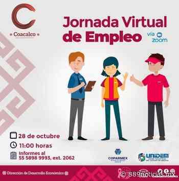 Realiza Coacalco Feria Virtual del Empleo - 88.9 Noticias