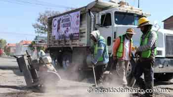 Eliminan baches en calles de Coacalco - El Heraldo de México