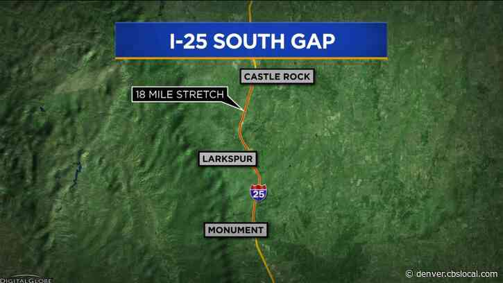 Extended Closures Start Friday Night On I-25 For South Gap Project