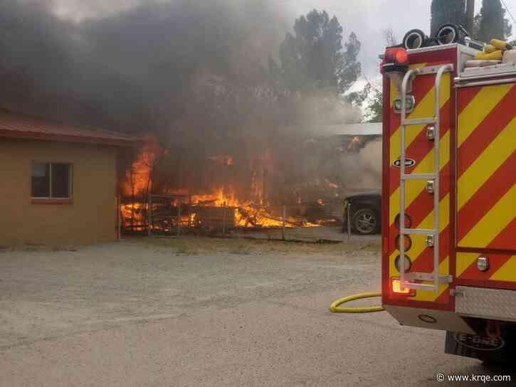 Family's home burns down after entire Lordsburg fire department walks out