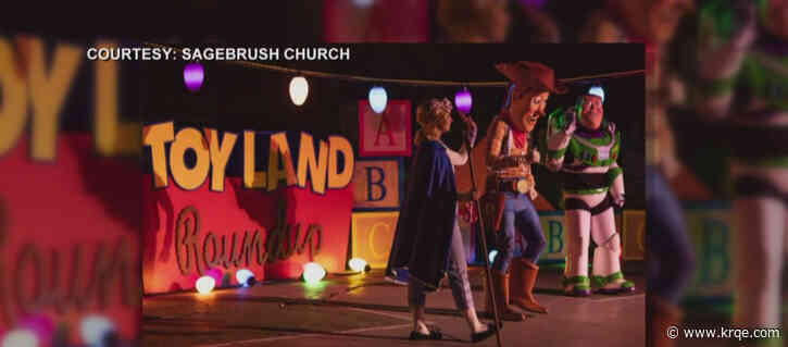 Sagebrush Church holds another night of 'drive-thru spooktacular'