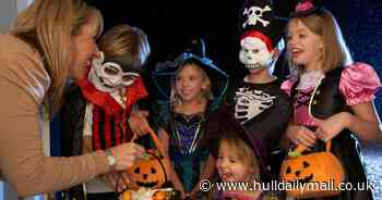 The government rules on trick or treating on Halloween