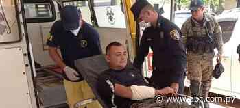 Uniformado herido tras enfrentamiento con supuestos sintierras en Yhú - Nacionales - ABC Color