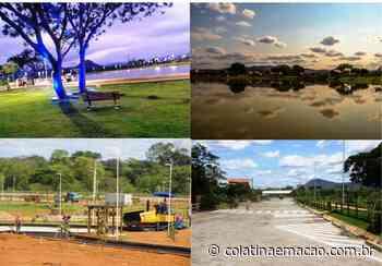 Parque da Lagoa, em Baixo Guandu, encanta e vai ser entregue em novembro - Colatina em Ação