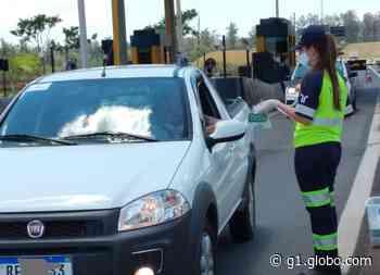Leme e Santa Rita do Passa Quatro recebem campanha de segurança no trânsito - G1