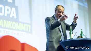 RTL/ntv-Trendbarometer: Union lässt Federn, SPD und AfD legen zu