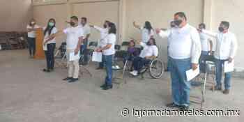 RPM refuerza territorio; presentan comité de Emiliano Zapata - La Jornada Morelos