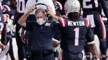 """New England Patriots: Bill Belichick hält auch vor dem """"must win""""-Spiel gegen Buffalo an Cam Newton fest - RAN"""