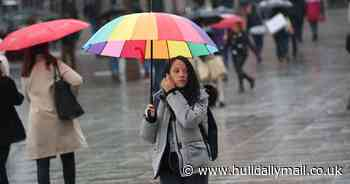 Heavy rain and strong gales to sweep UK as Storm Aiden arrives