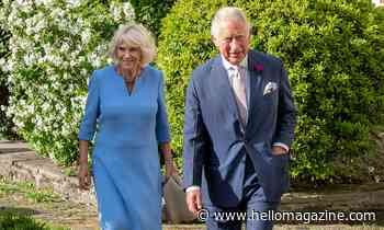 Prince Charles and Duchess Camilla's poignant new garden feature revealed