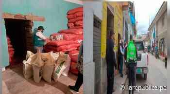 Cajamarca: en Celendín, incautan más de una tonelada de abono de origen sospechoso - LaRepública.pe