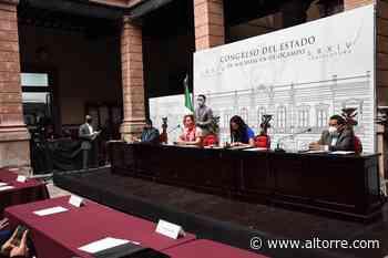 Aprueban diputados carencia de elementos para designación de regidor de Tepalcatepec - Altorre