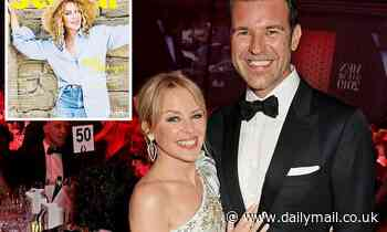 Kylie Minogue reveals boyfriend Paul Solomons met her family during secret visit to Australia