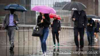 UK to be battered by Storm Aiden and remnants of hurricane