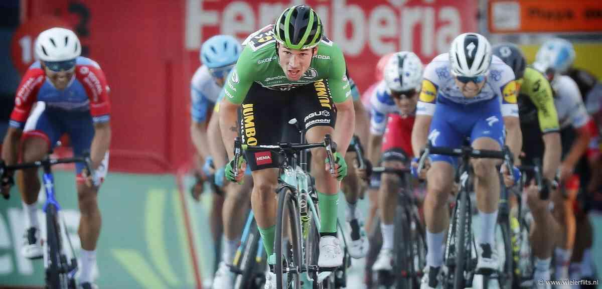 Vuelta 2020: Elfde etappe begint met kort rennersprotest