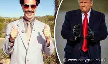Sacha Baron Cohen: Borat is 'more extreme version of Donald Trump'