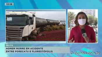 Homem morre em acidente entre Porecatu e Florestópolis - RIC - RIC Mais