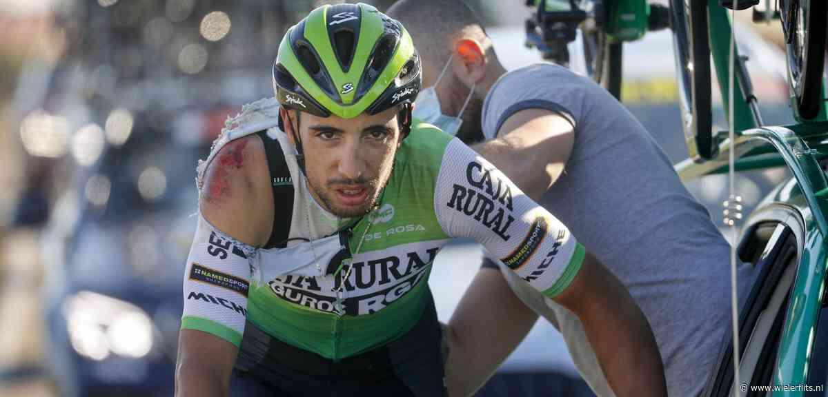 Vuelta 2020: Héctor Sáez geeft op na eerdere valpartij