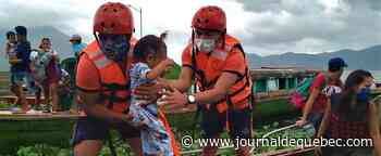 Philippines: un million de personnes évacuées à l'approche du typhon Goni