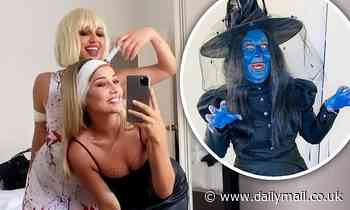 Aussie celebrities show off their wild Halloween costumes