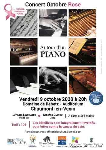 Autour d'un piano (concert Octobre Rose) Chaumont-en-Vexin - Unidivers