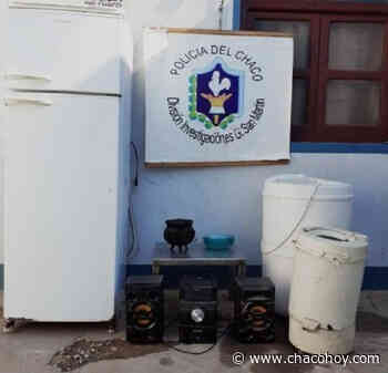 General San Martin, detienen a una pareja por llevarse electrodomésticos de una vivienda - ChacoHoy