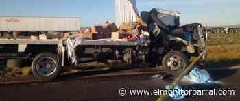 FATAL ACCIDENTE EN LA CARRETERA A GOMEZ PALACIO - El Monitor de Parral