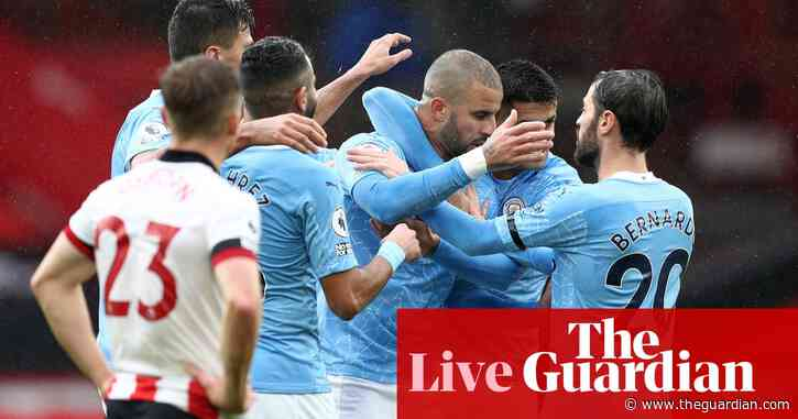Sheffield United 0-1 Manchester City: Premier League – as it happened